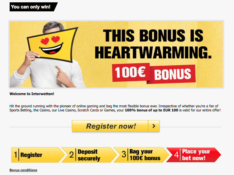 Changes to Payout Interwetten 108999