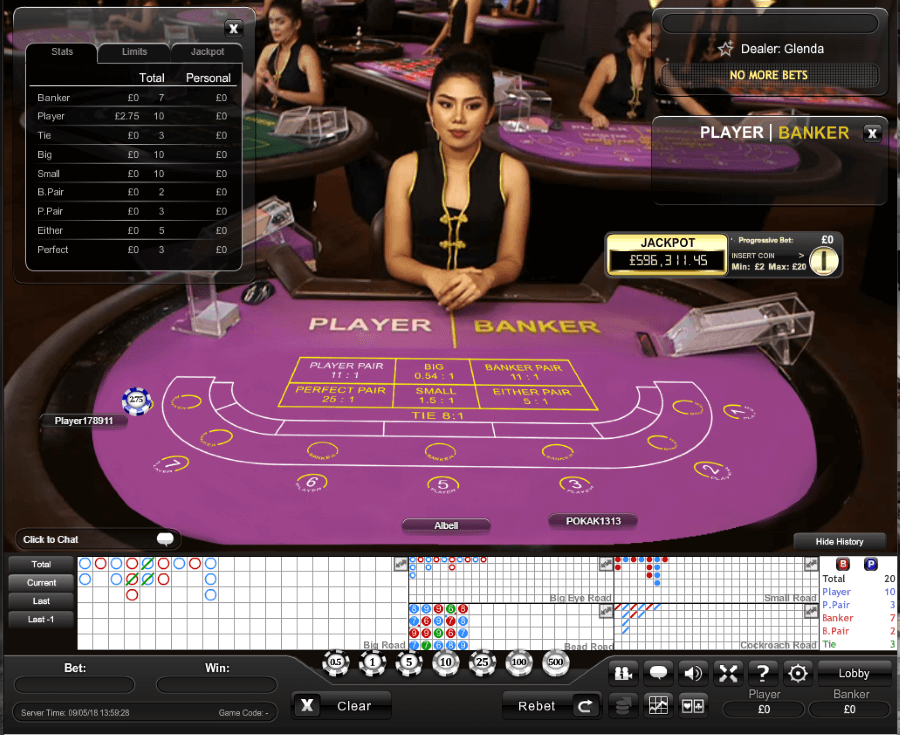 Strategy of Baccarat 70702