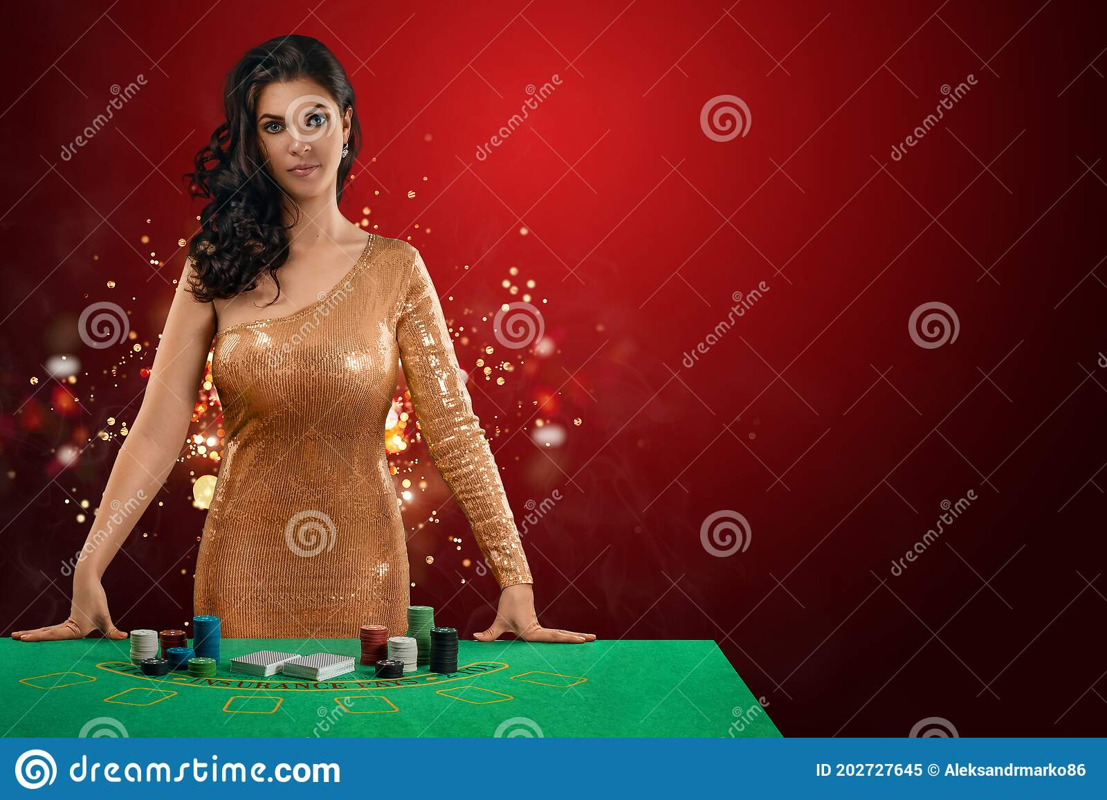 Casino Girl Outfit 153096
