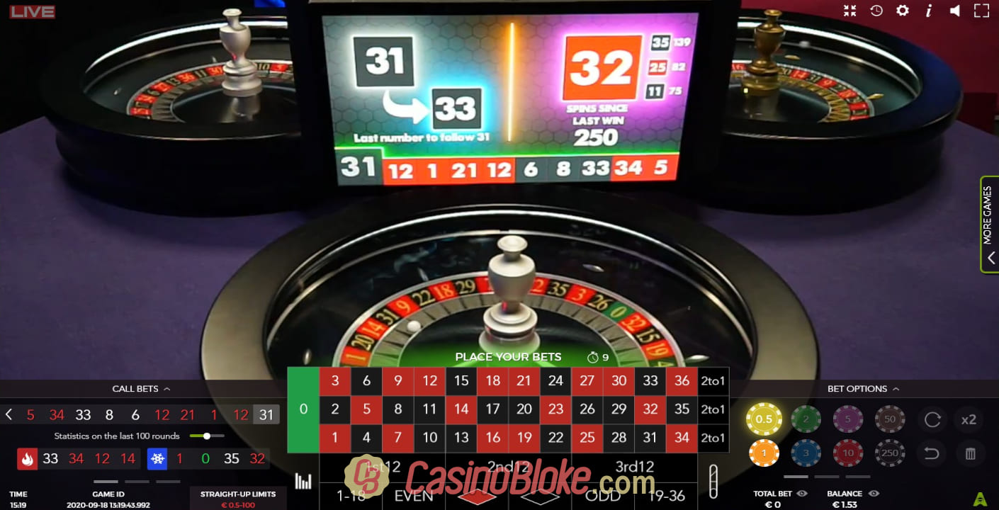 Roulette Strategy to 184205